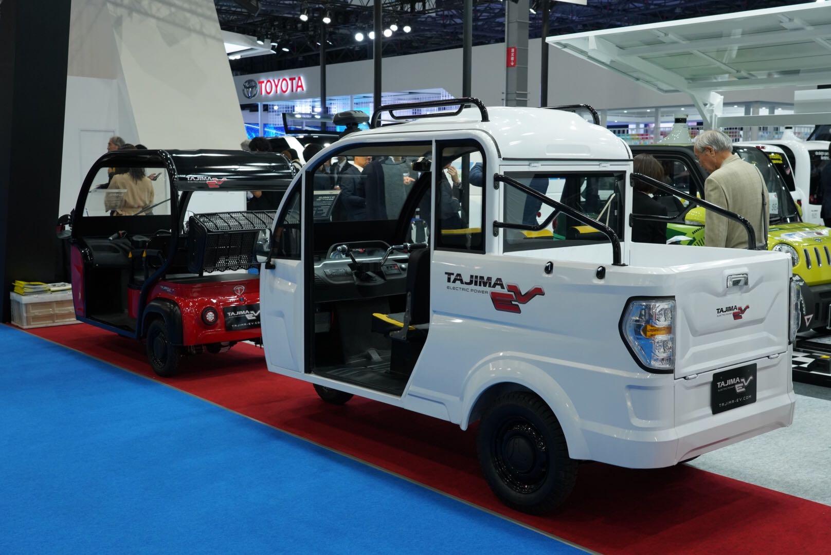 タジマ 電動3輪小型モビリティ(貨物型)東京モーターショー2019
