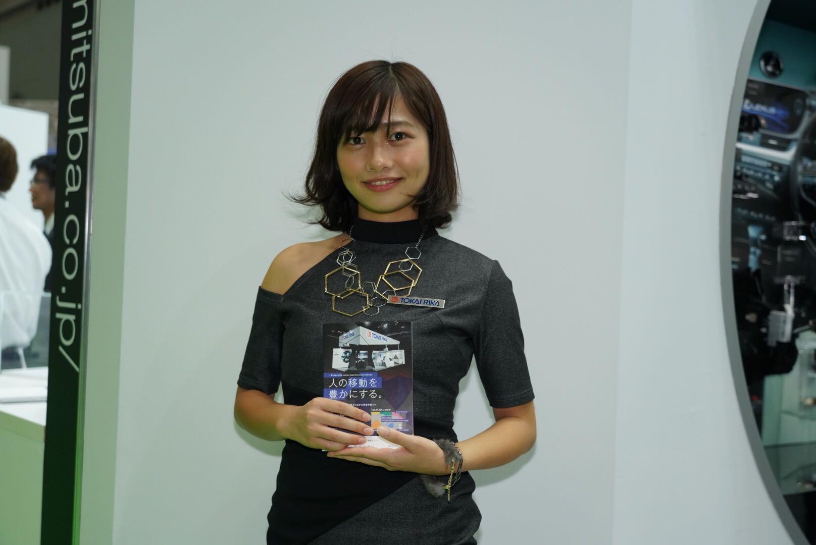 東海理化 東京モーターショー2019 コンパニオン