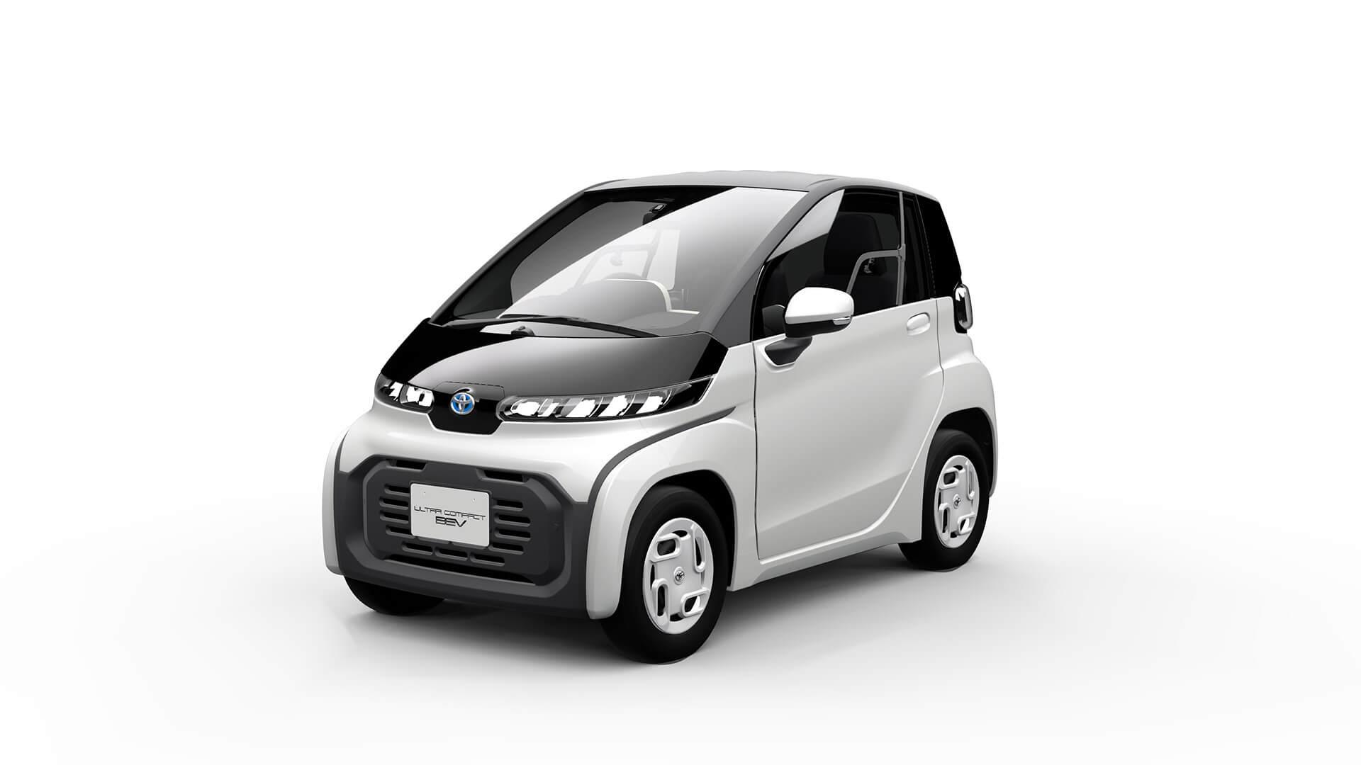 トヨタ 超小型EV 2019