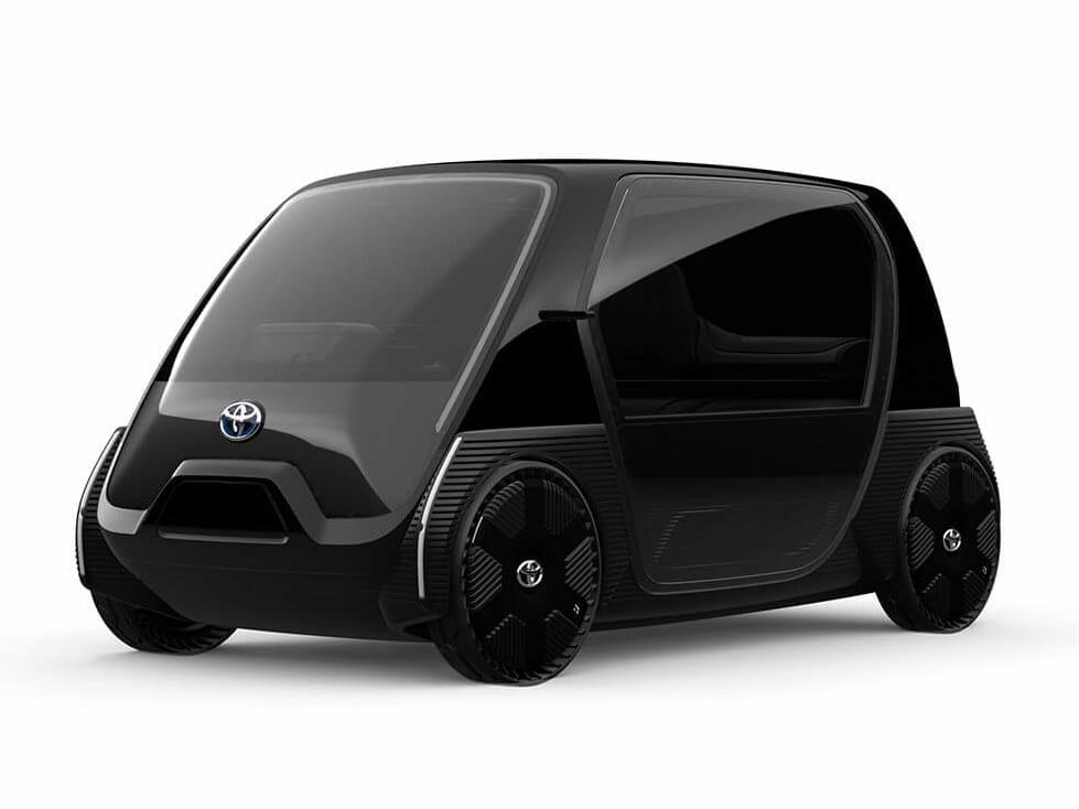 トヨタ 超小型EV ビジネス向けコンセプトモデル