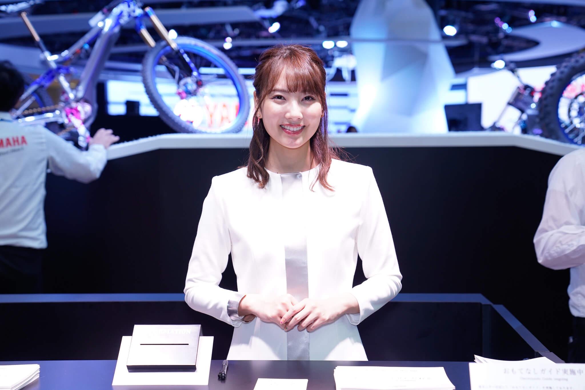 ヤマハ 東京モーターショー2019 コンパニオン