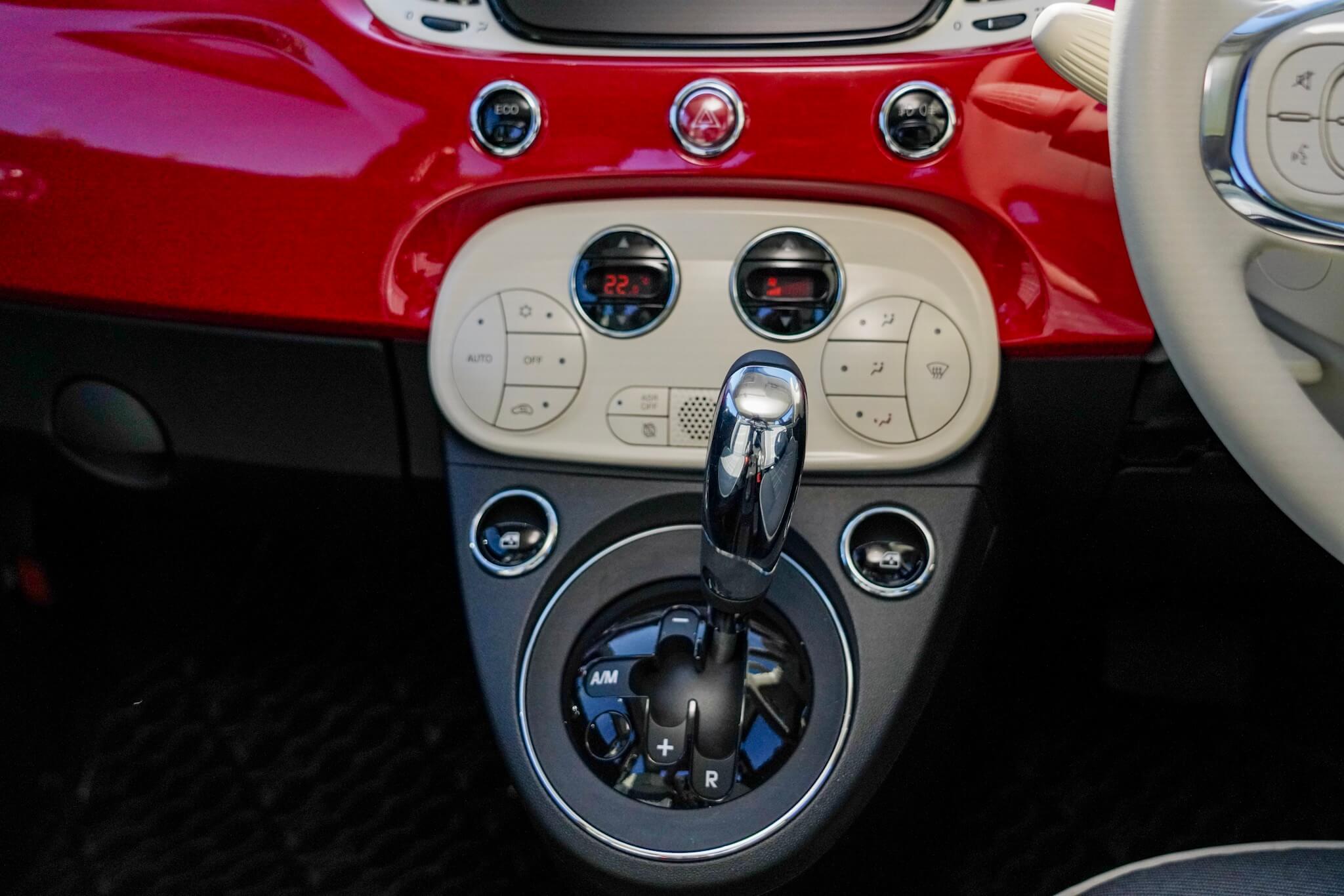 FIAT 500 ATモード付き5速シーケンシャル・トランスミッション