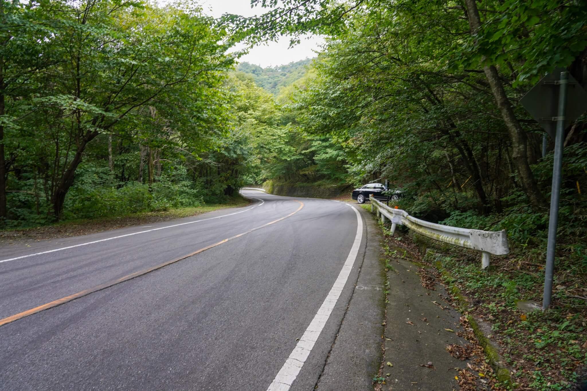 赤城山 峠 カーブNo.29