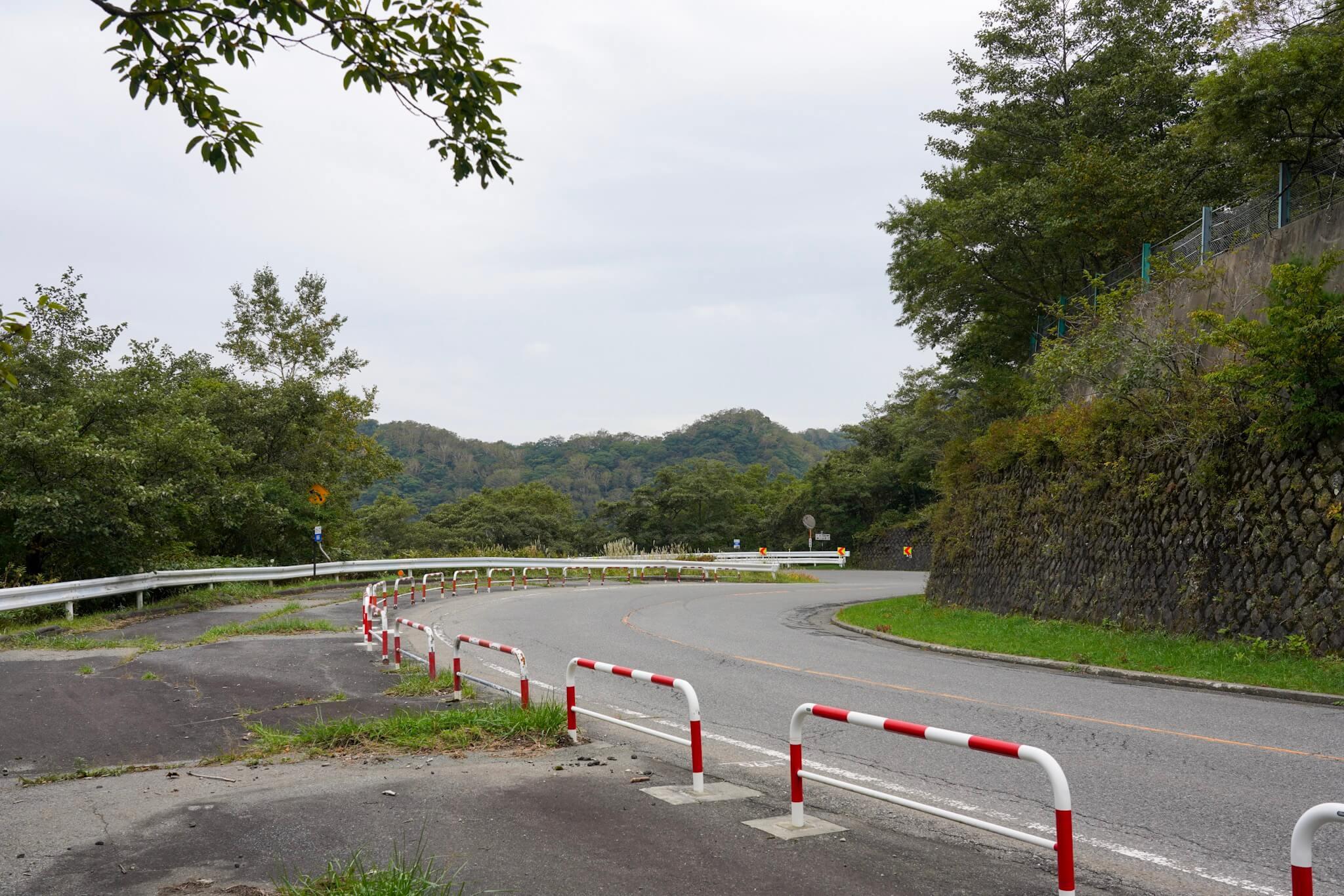 赤城山 峠 カーブNo.66