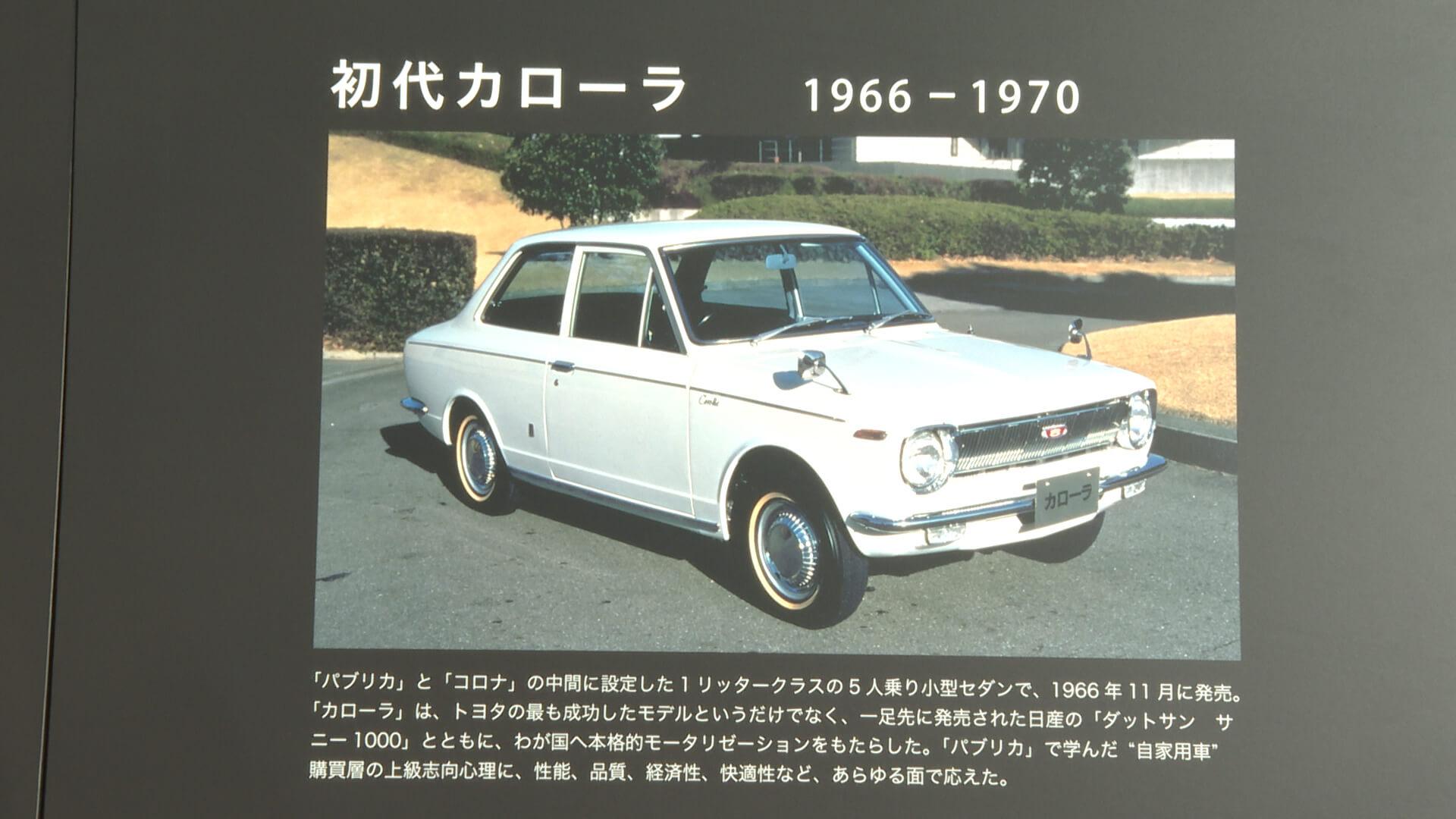 トヨタ 初代カローラ(1966~1969年)