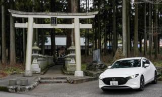 【山宮浅間神社】社殿がないぞ!富士浅間神社10社巡礼ドライブコース・見どころ案内