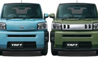 ダイハツ・タフト(TAFT)新型クロスオーバー軽SUVが予約受注開始!2020年6月発売予定